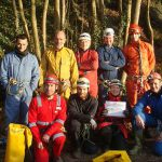 deelnemers bergstijgers St-Anne, Tilff 10.12.2016